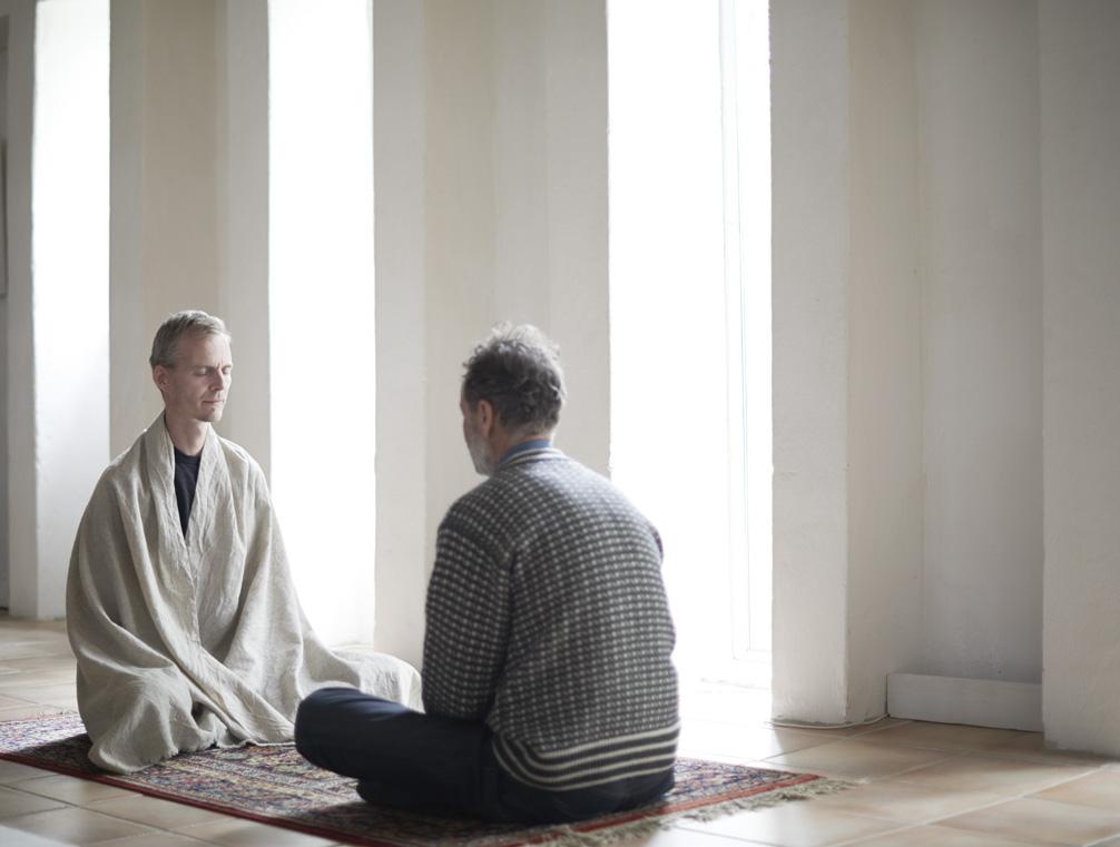 Lœr at meditere på hjertet